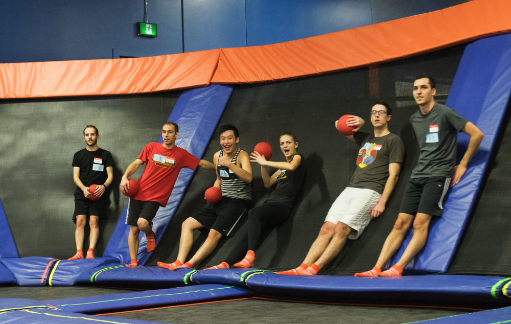 Group at Sky Zone Trampolines