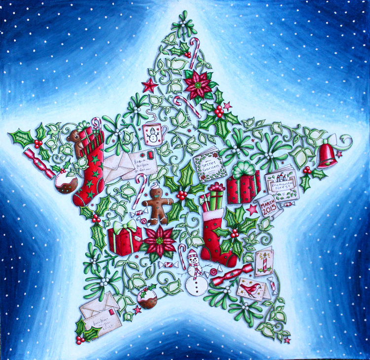 Coloring: Holiday Specials by Johanna Basford — Emily Illustrator