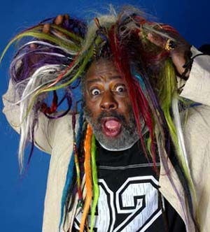 George Clinton, in his flow.