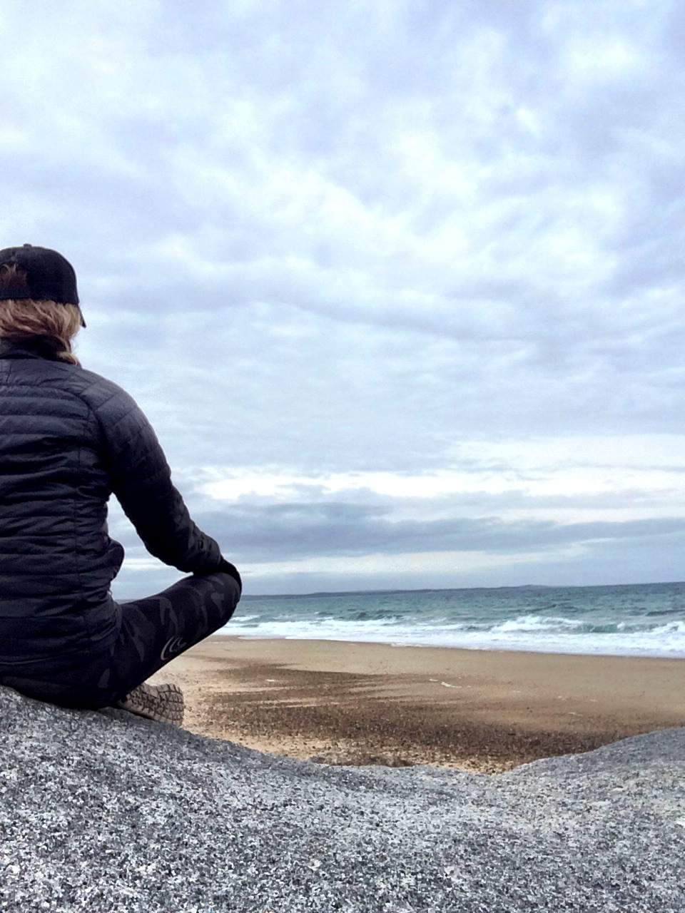 This mornings oceanside meditation