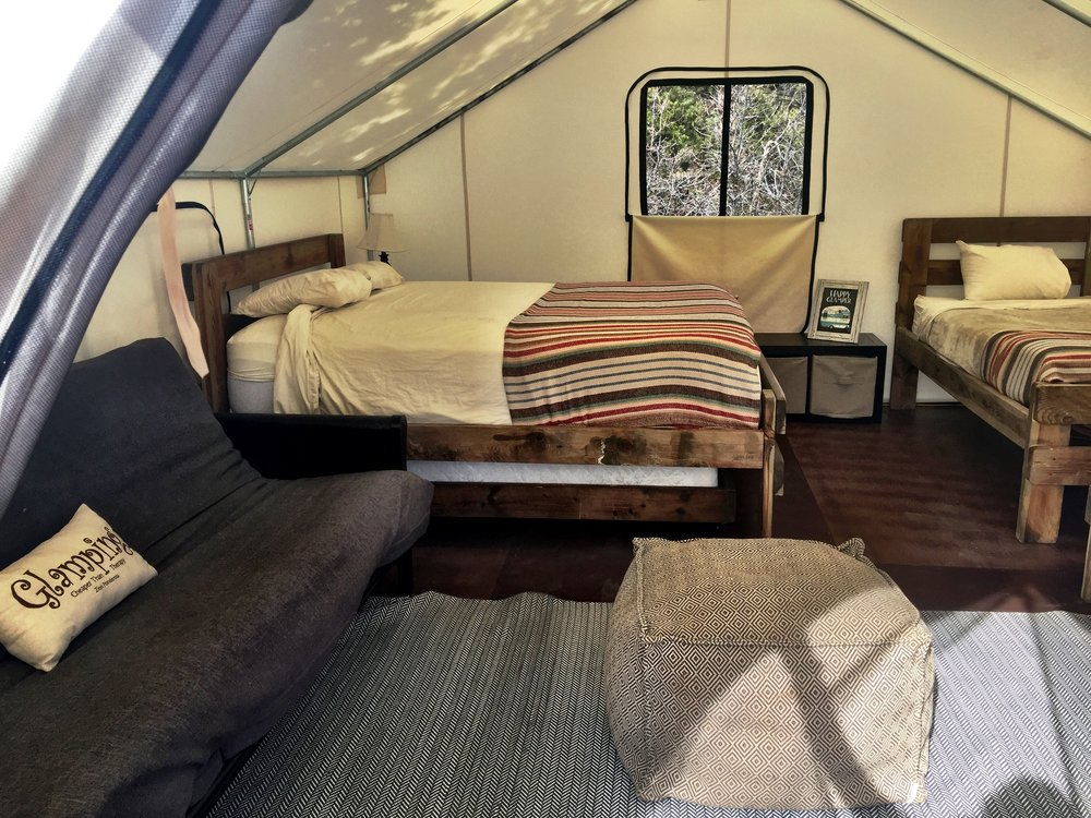 """""""Glamping"""" in Zion"""
