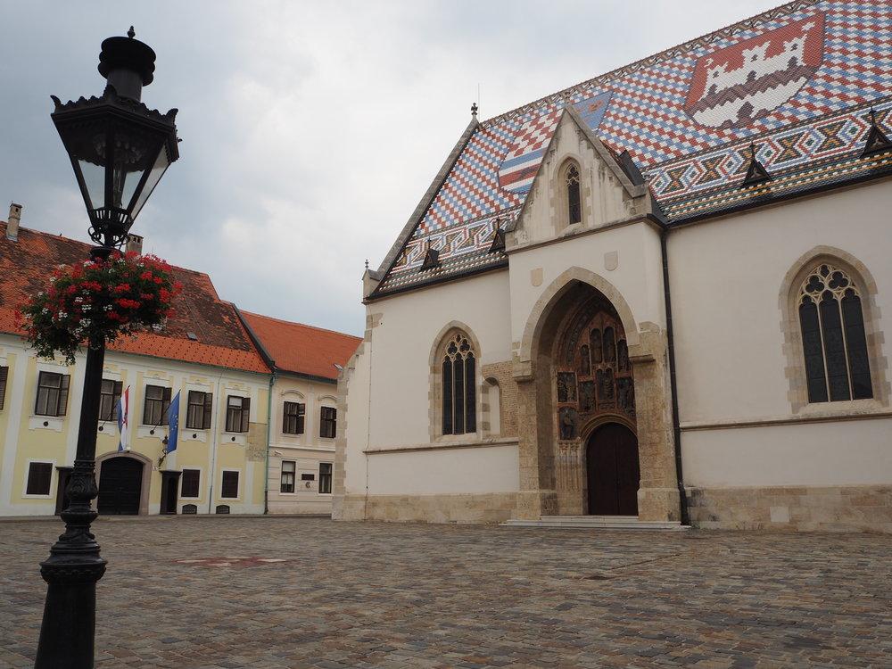 St Mark's Church in Zagreb's Old Town