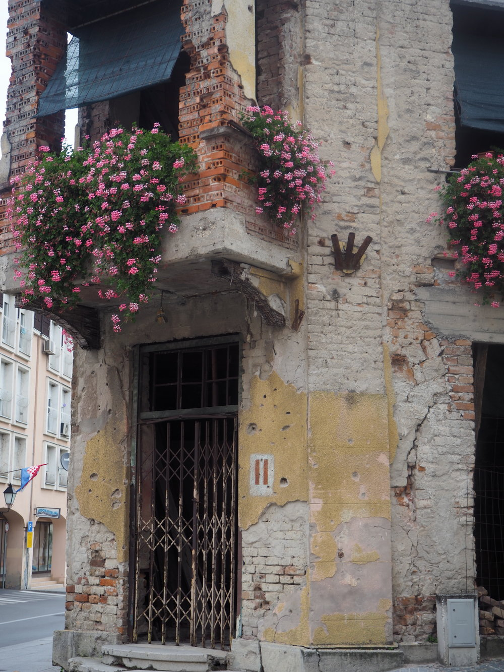 Reminders of a war-torn country in Vukovar