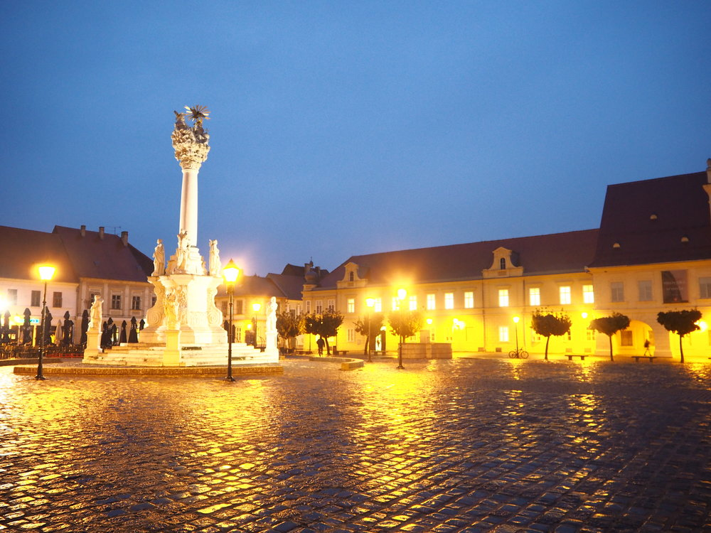 Osijek at twilight