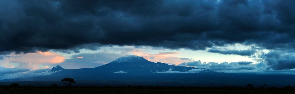 Kilimanjaro from Aboseli Game Park