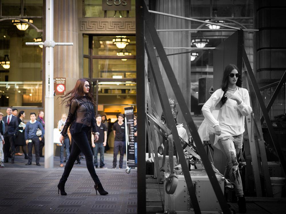 Frame Fashion Week Models 1