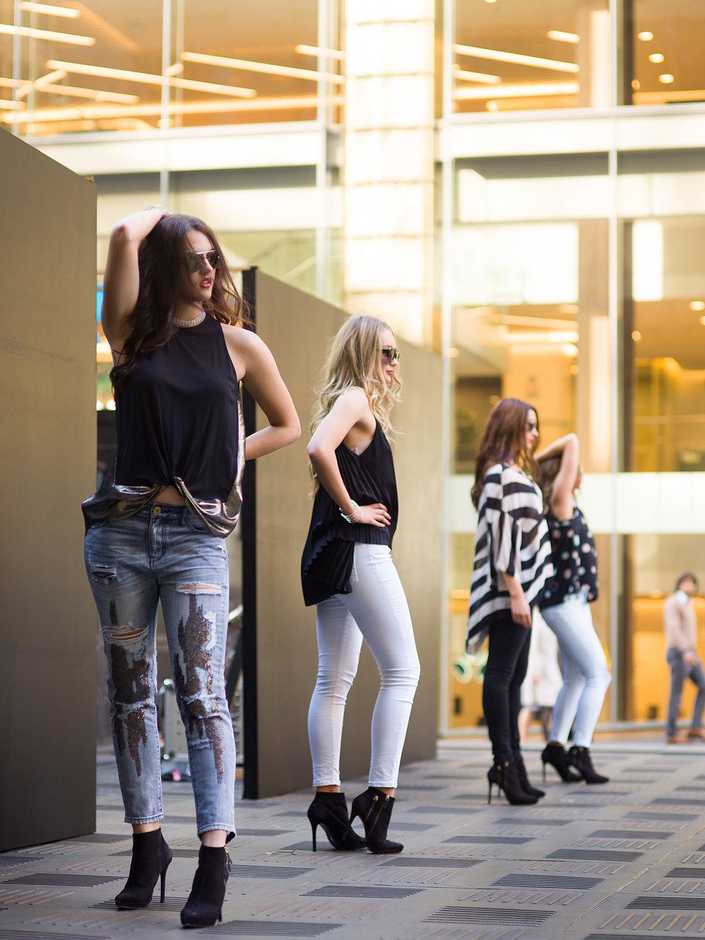 Frame Fashion Week Models 6