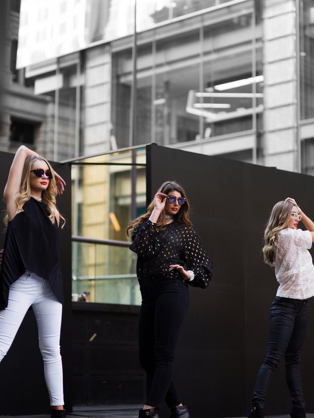 Frame Fashion Week Models 8