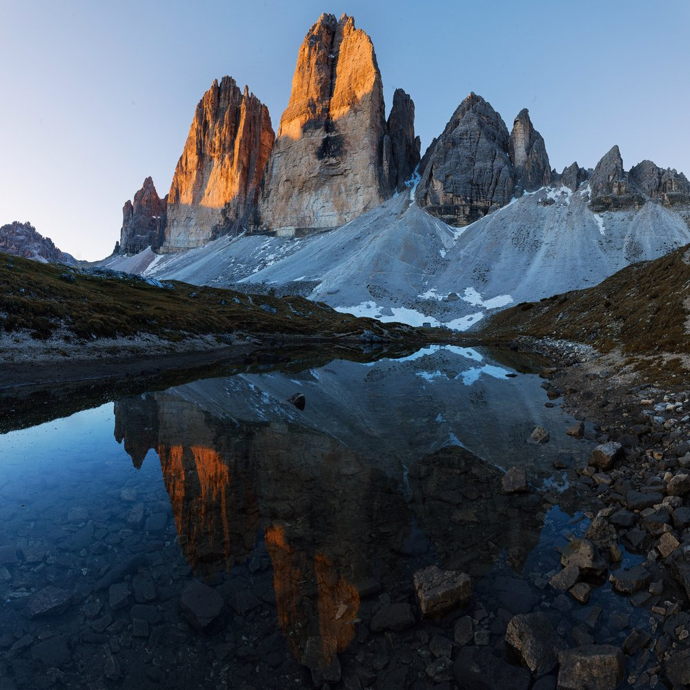 Tre Cime Sunrise