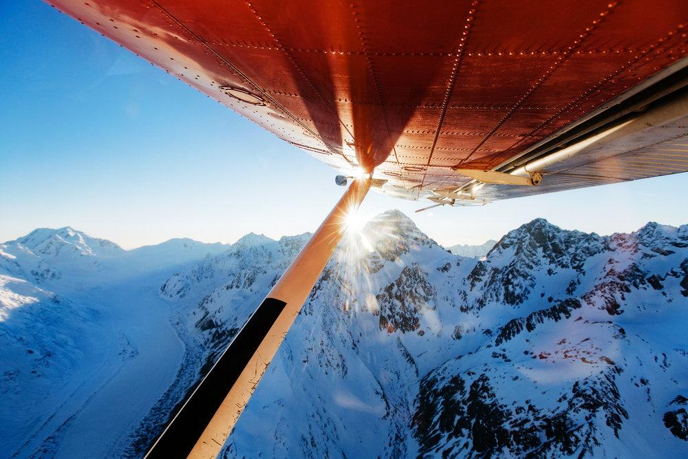 Flight Over Aoraki