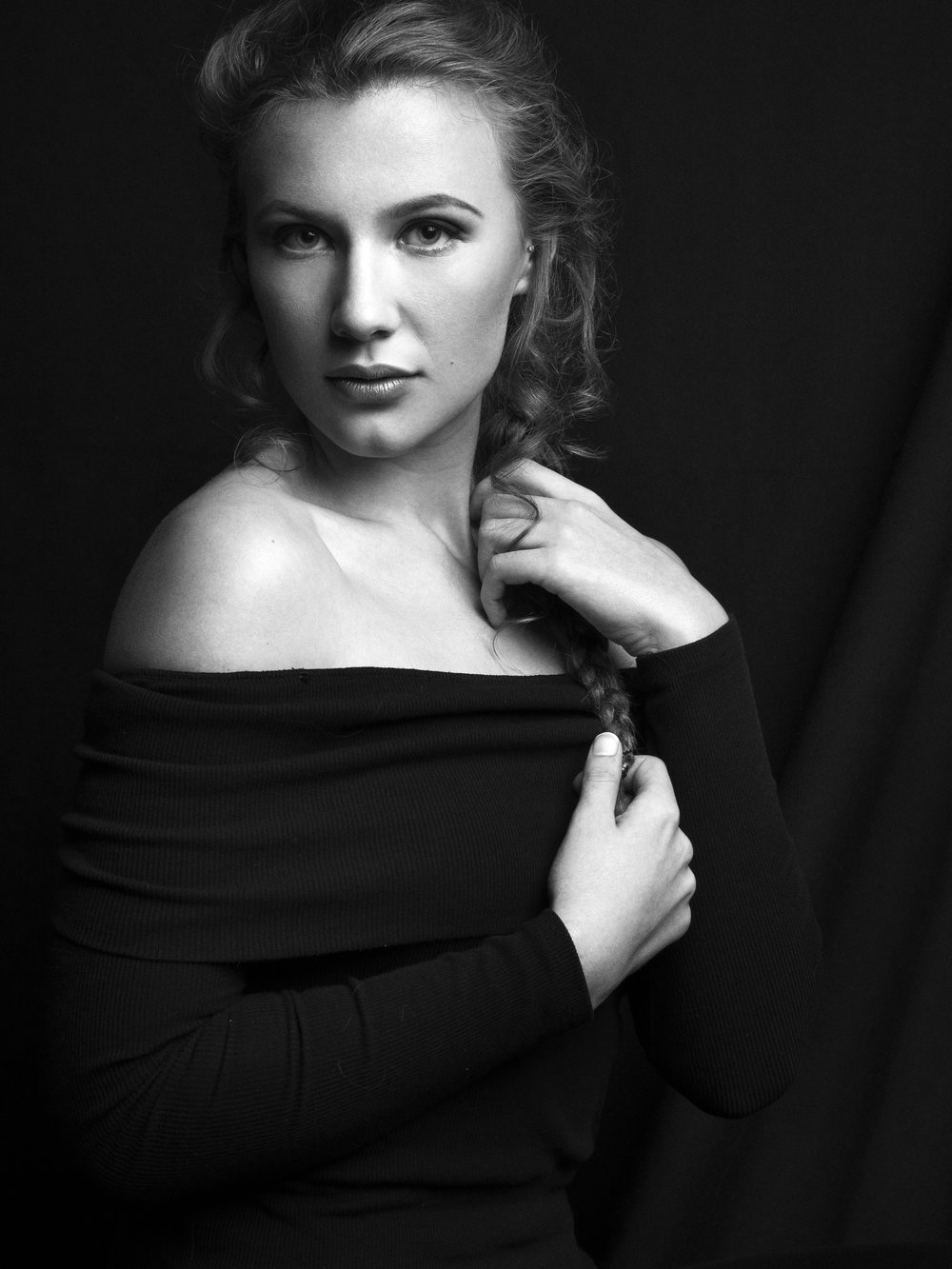 Black and White Retouched
