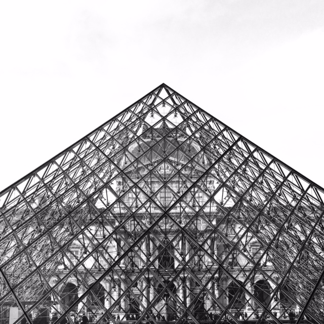 The Louvre by Ashley Whitlatch