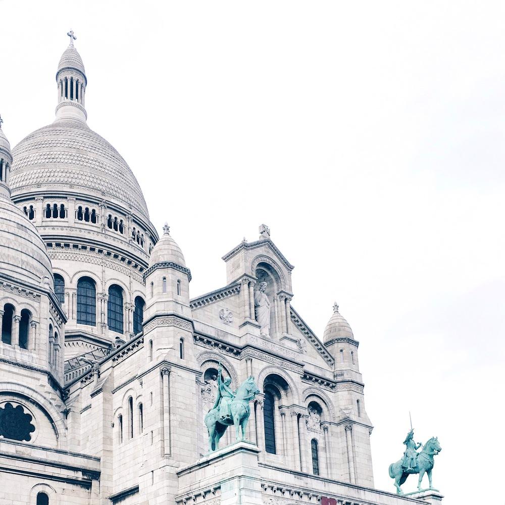 Sacre Coeur - by Ashley Whitlatch