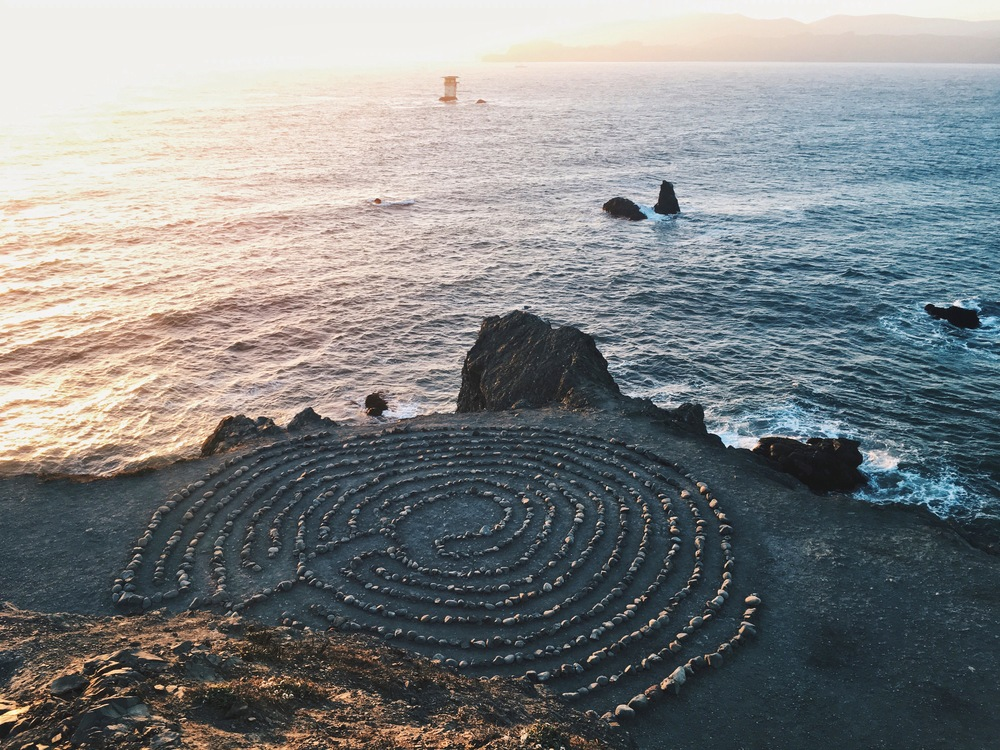 Peace Labyrinth by Ashley Whitlatch