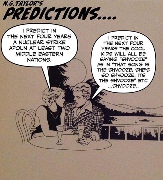 Noah Taylor. Prediction Series (2017).