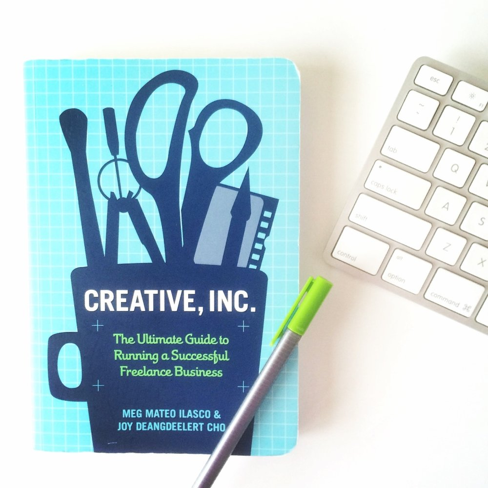 The first thing I did was buy a book about freelancing—Creative, Inc. | casilong.com/blog