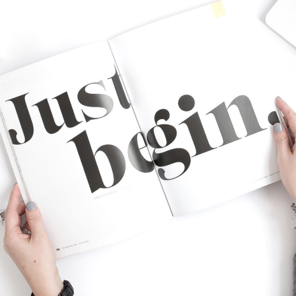 Just Begin | Belong Magazine
