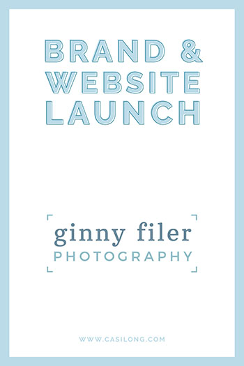 Brand Launch Ginny Filer Photography