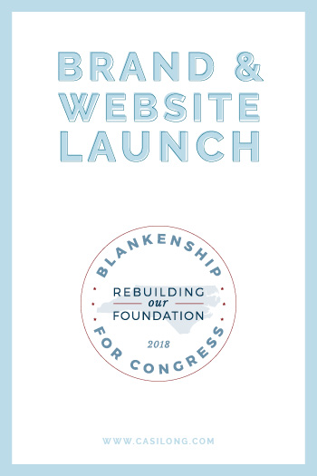 Blankenship for Congress | Brand Launch | www.blankenshipforcongress.com
