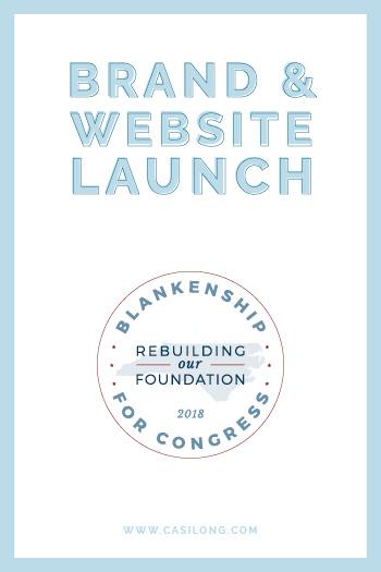 Blankenship for Congress | Brand Launch | www.blankenshipforcongress.com