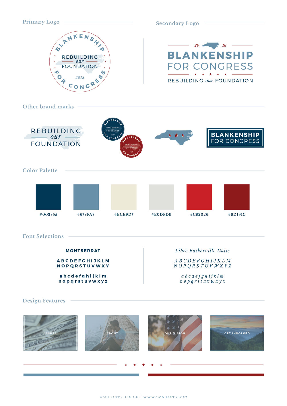 Style Guide | Blankenship for Congress | www.blankenshipforcongress.com