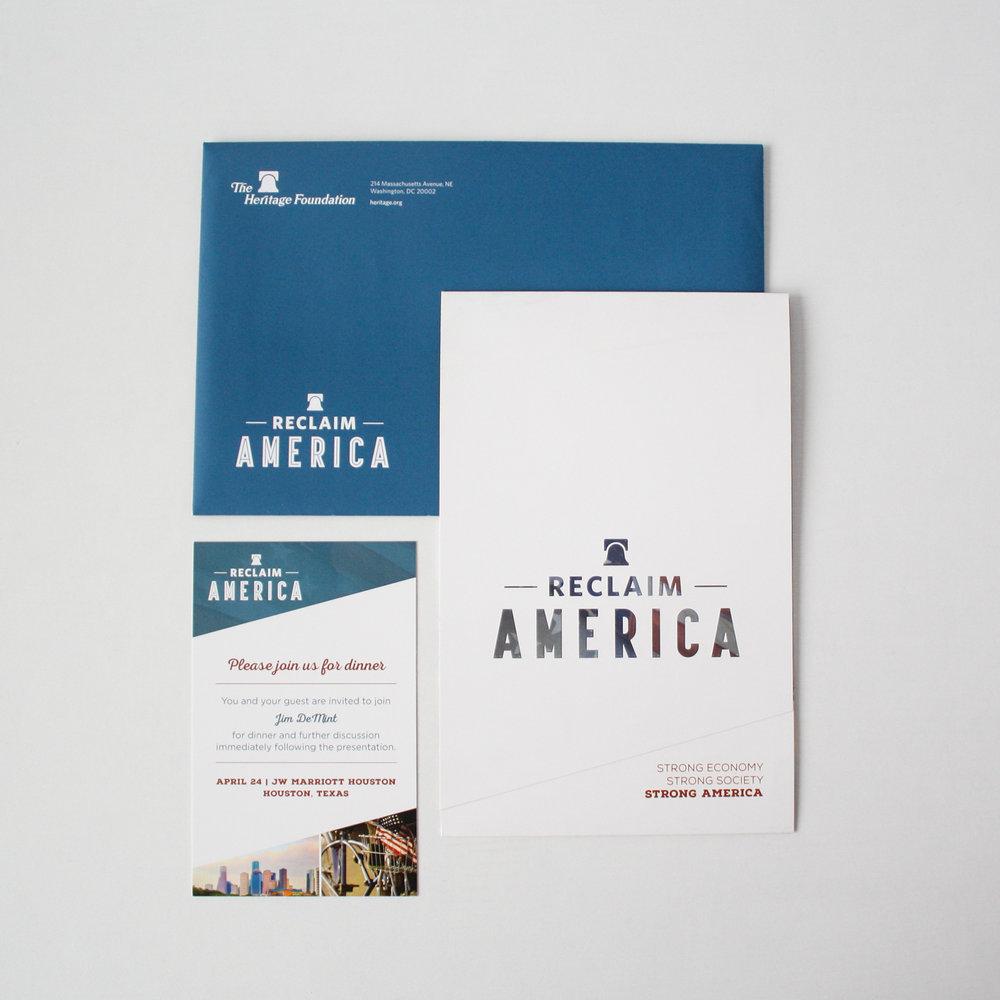 Reclaim America Campaign | Corporate Event Invitation | Casi Long Design | casilong.com:portfolio | #casilongdesign #fearlesspursuit Thumbnail.jpg