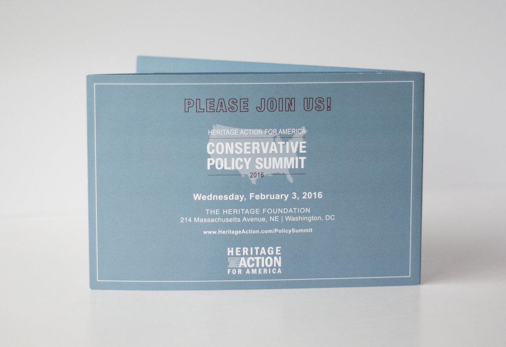 Conservative Policy Summit Corporate Event Invitation | Casi Long Design | casilong.com:portfolio | #casilongdesign #fearlesspursuit 7.jpg