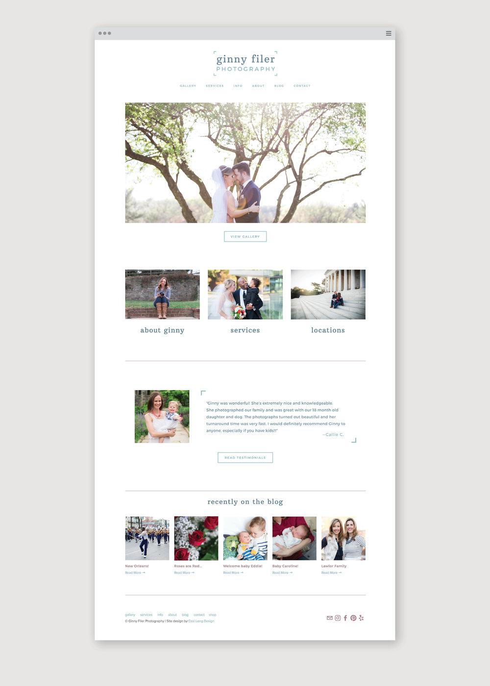Ginny Filer Photography | Casi Long Design | casilong.com