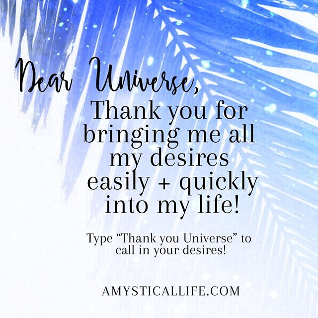 "Type ""Thank you Universe"" to call in your desires in the comments!.⠀⠀⠀⠀⠀⠀⠀⠀⠀ .⠀⠀⠀⠀⠀⠀⠀⠀⠀ .⠀⠀⠀⠀⠀⠀⠀⠀⠀ . ⠀⠀⠀⠀⠀⠀⠀⠀⠀ #inspiringquotes #spiritualquotes #hayhouse #ownnetwork #meditatedaily #heavilymeditated #spiritualaf #mantra #affirmations #affirmation #morninginspiration #quotepic #inspoquote #lifecoachforwomen #spiritualcoach #selfdevelopment #modernspirituality #selflovequotes #deliberatecreator #consciousliving #consciouscreator #poweroftheheart #heartpower #spiritualquote #worthy #worthitall #lettinggo #selflove #spiritjunkie #amysticallife"
