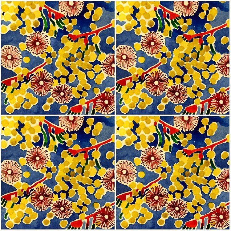 Wattle pattern