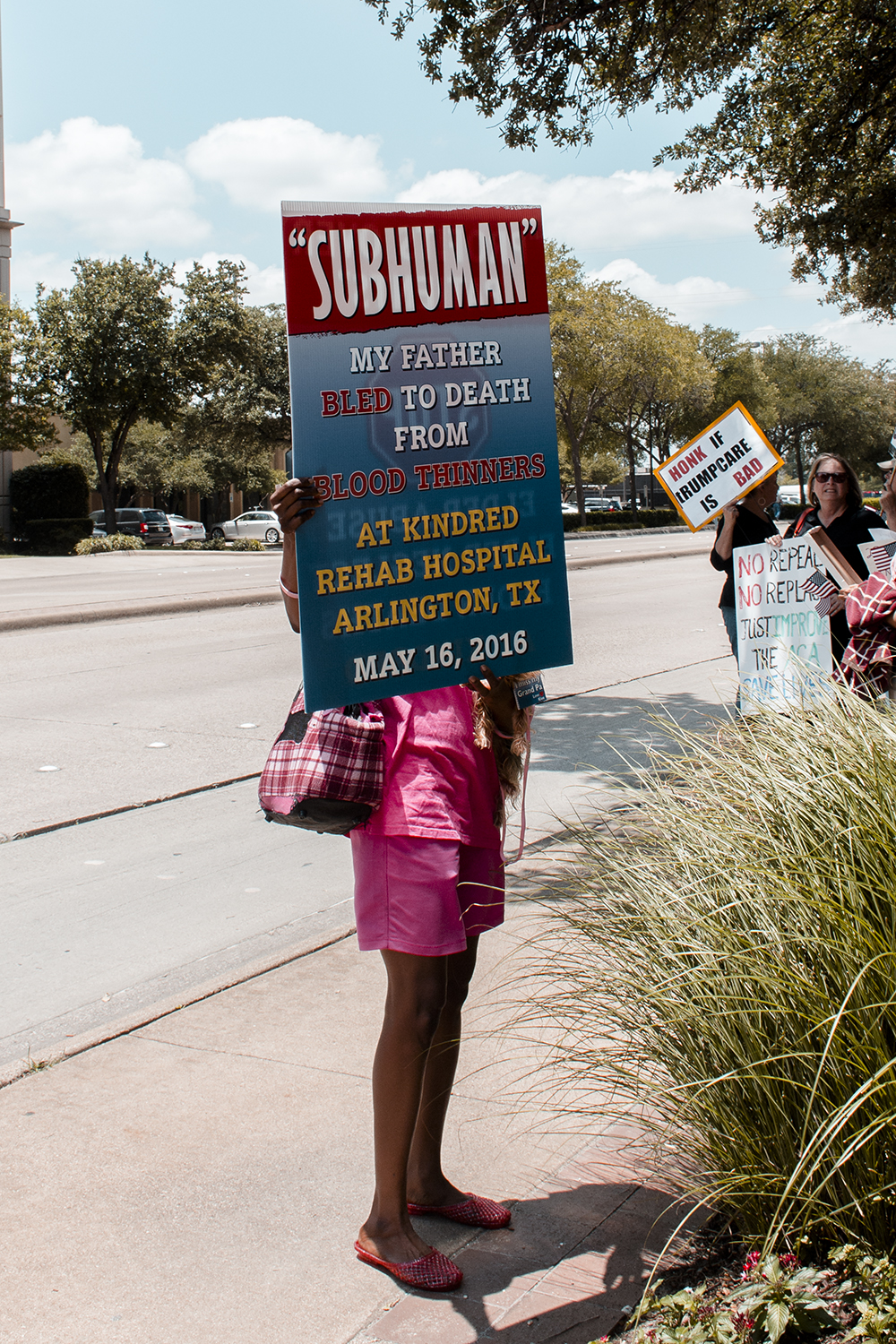 Rally to Save Our Healthcare/Sen Cornyn's Office 6/28/17 © Holly D. Gray
