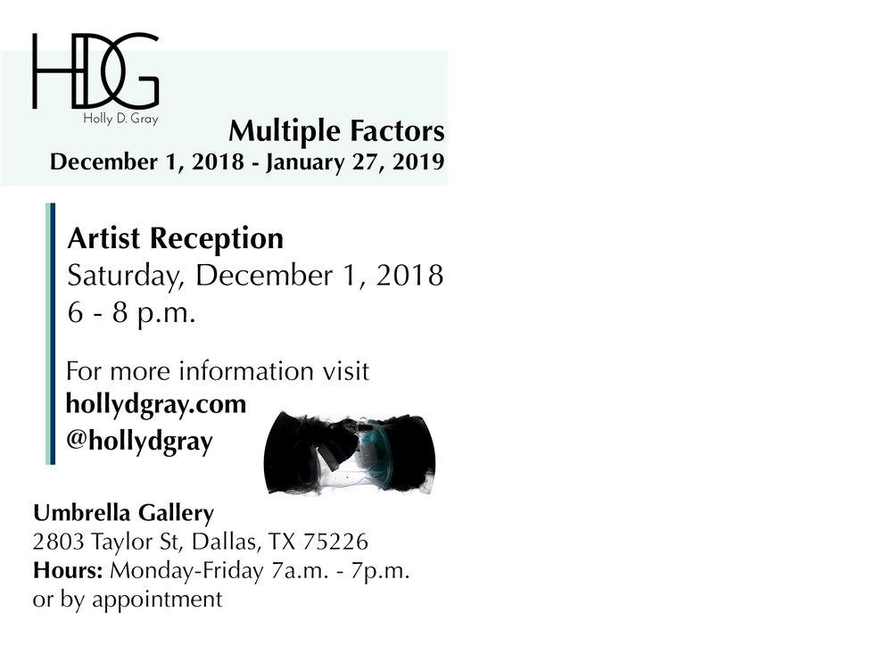Multiple Factors Holly D. Gray