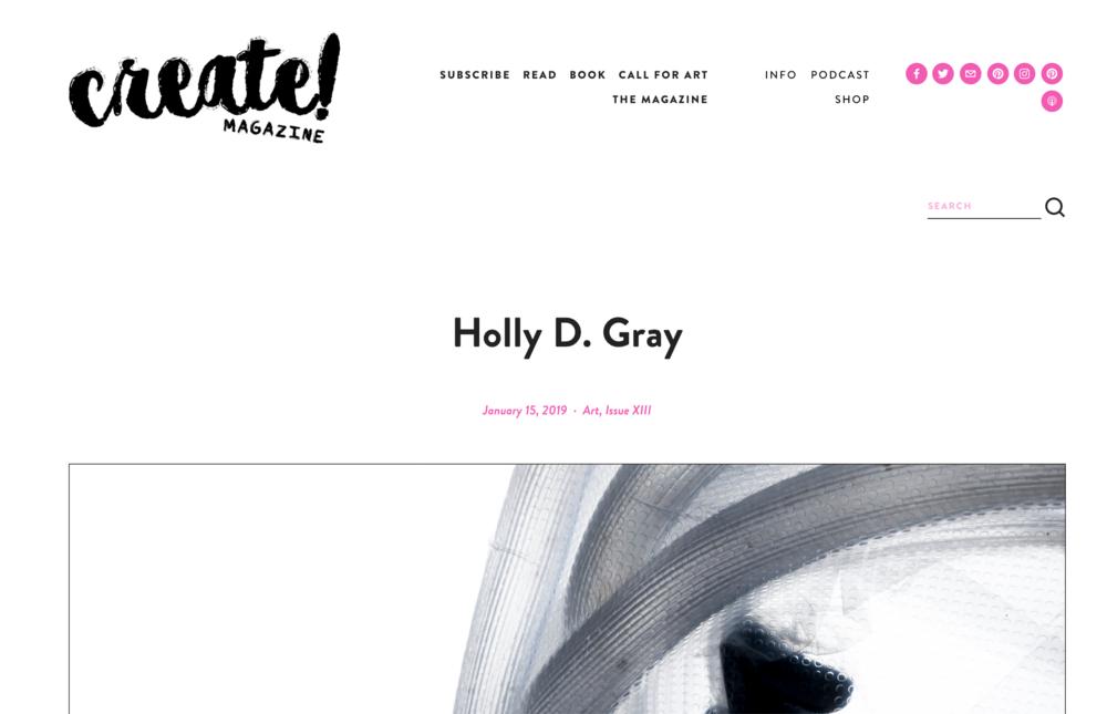 Create! Magazine January 2019