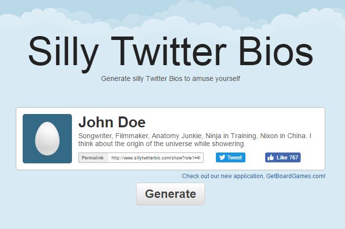 Twitter Bio Generator 2
