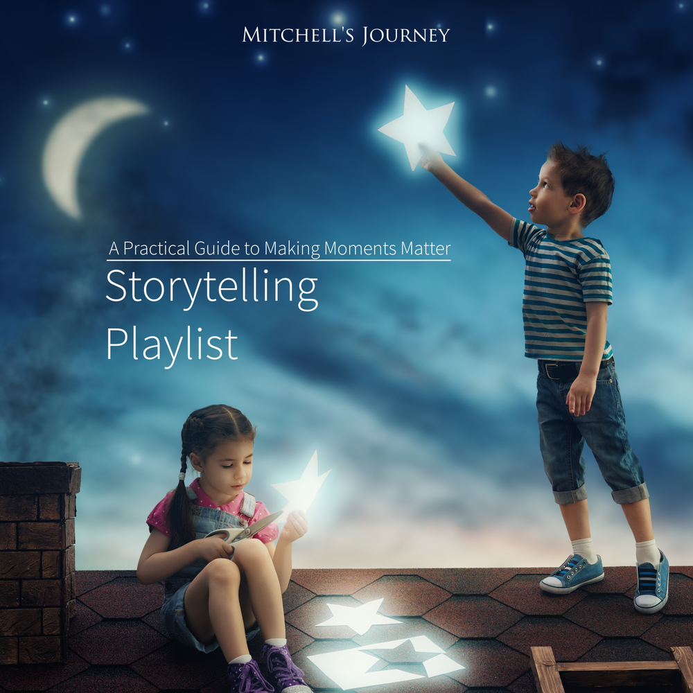 As part of the 6 ideas on making moments matter, a unique technique for storytelling will be shared that excites children and adults alike.
