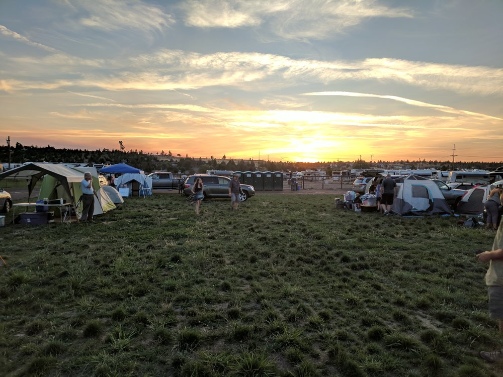 Another great shot by Jonathan of the campgrounds a the fairgrounds