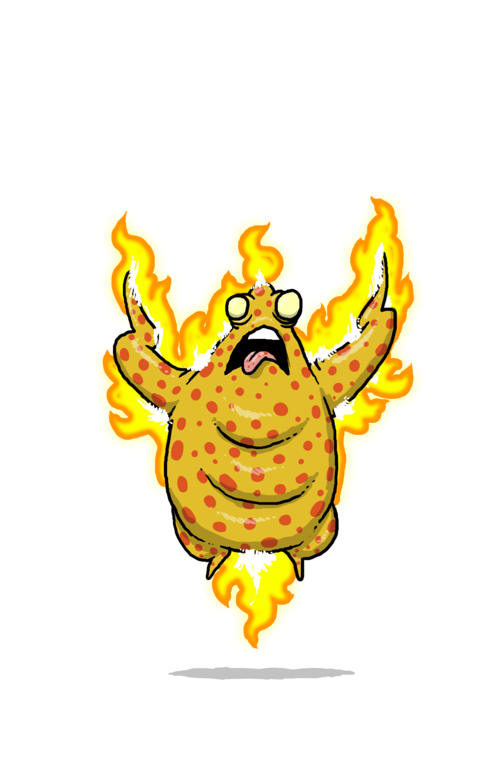 Varicella (chicken pox)  from: starter deck contact/virus