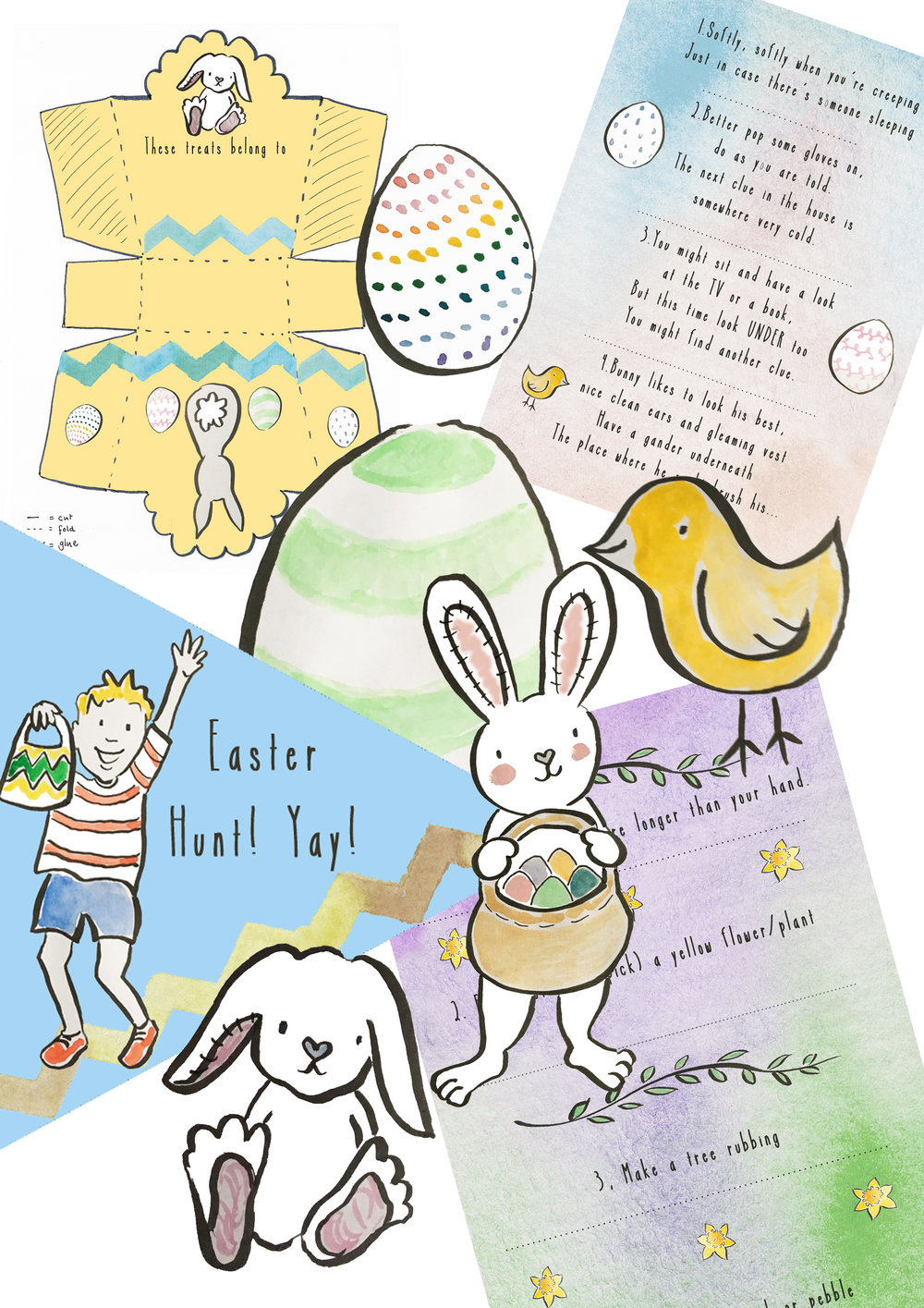 Easter Package examples