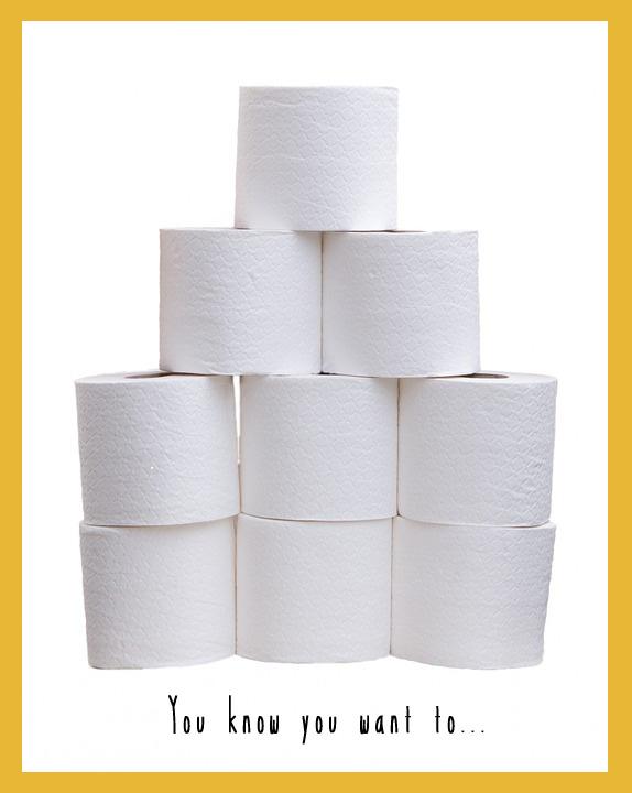 toilet roll skittles
