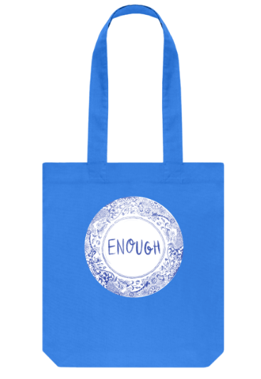 Enough on Your Plate organic tote