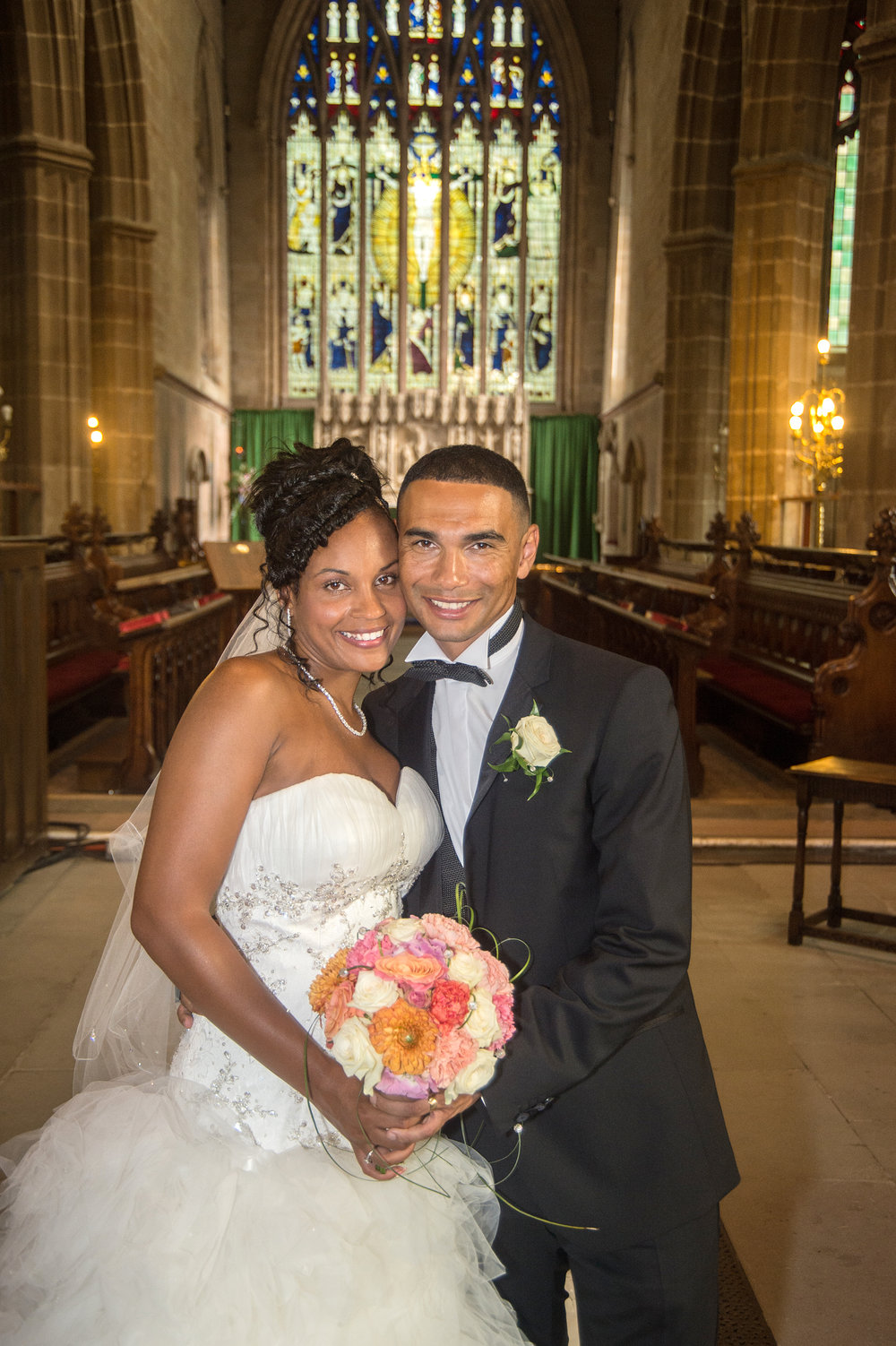 Wedding ceremony Holy Trinity Church Coventry