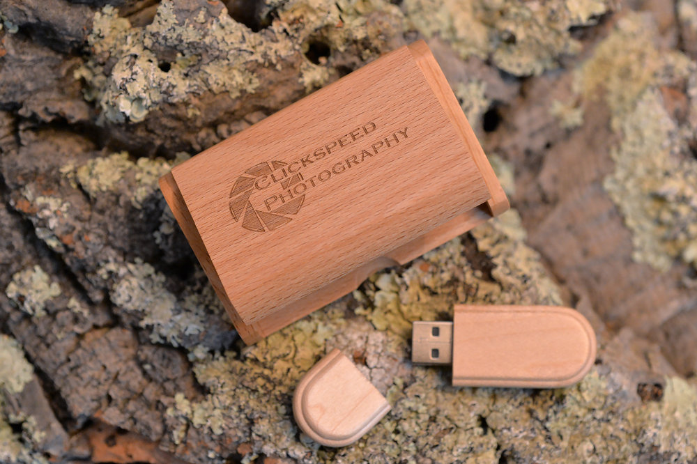 All your images are supplied on USB media safely encased by our own unique wooden box.