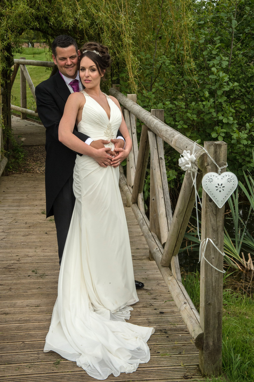 Bride and Groom Wooton Park Henley in Arden