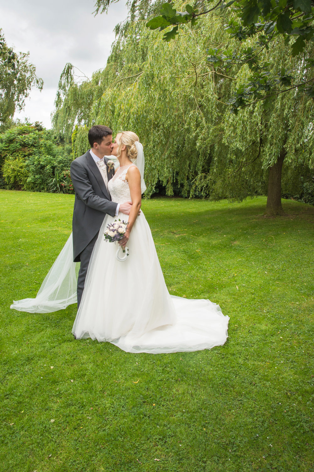 Bride and Groom Sketchley Grange Hotel Hinckley Leicestershire