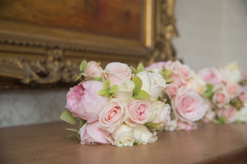 Wedding bouquets at Highbury Hall Birmingham