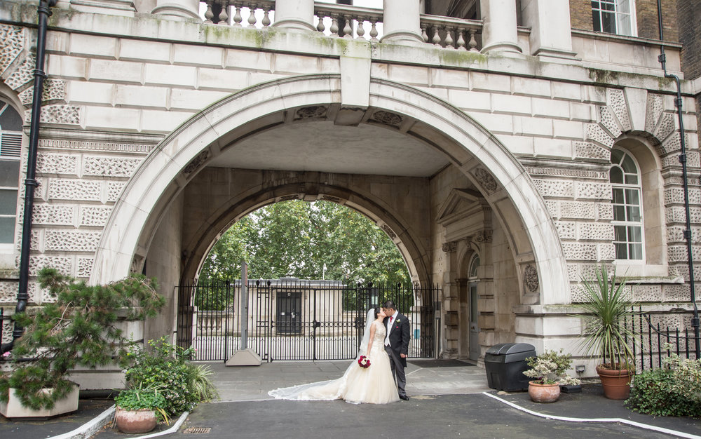 Kings College Central London Wedding