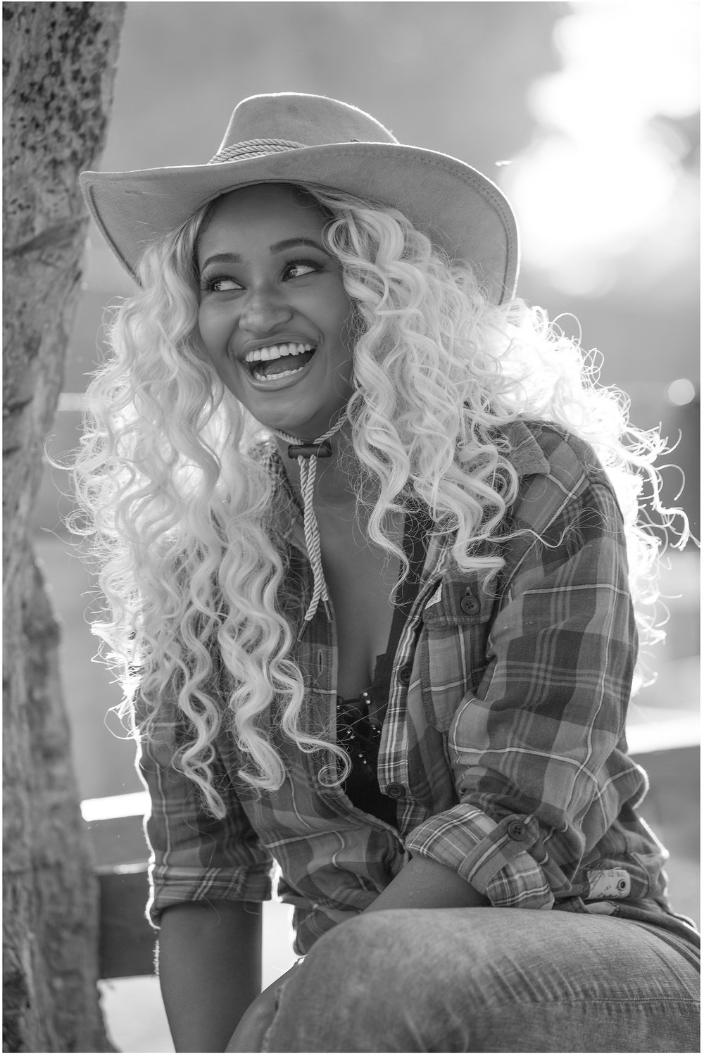 Country Girl Bw