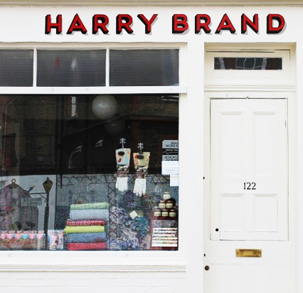 Harry Brand, 122 Columbia Road, London E2 7RG