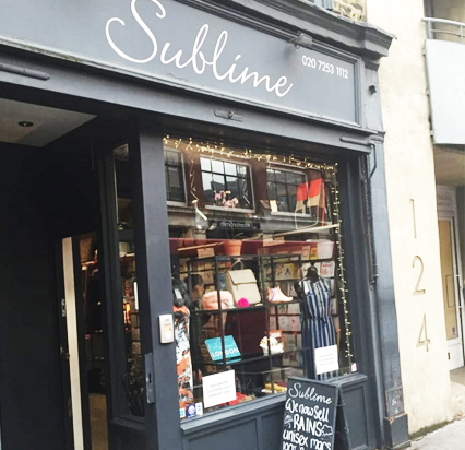 Sublime Boutique, 225 Victoria Park Rd, London E9 7HD