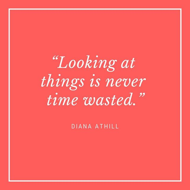 """""""Looking at things is never time wasted."""" - Diana Athill⠀⠀⠀⠀⠀⠀⠀⠀⠀ ⠀⠀⠀⠀⠀⠀⠀⠀⠀ Somewhere Towards The End was written when Diana Athill was 90 and is a reflection on old age, illness and what happens when you aren't as young as you used to be. Diana died this year aged 101 and I love that her career continued into her 90s. She only retired from publishing at the age of 75 and went on to write another book in 2015 at the age of 98! She lived a rather remarkable life, not conforming to the norms of societies in her youth, so is it any wonder that she wrote so eloquently about getting old and talking about death, something that we rarely talk about. The longer version of this quote goes on to say """"When I was marvelling at the beauty of a painting or enjoying a great view it did not occur to me that the experience, however intense, would be of value many years later. But there it has remained, tucked away in hidden bits of my mind and now it comes, shouldering aside even the most passionate love affairs."""" I love the idea of how moments of our life today will hold a special place in our hearts many years from now, should we be lucky enough to live that long.⠀⠀⠀⠀⠀⠀⠀⠀⠀ ⠀⠀⠀⠀⠀⠀⠀⠀⠀ What Diana Athill teaches me, as do all of the Unconventional Mentors that I am featuring this week, is that there is no time limit on success. We can make the most of our whole lives and don't have to do everything right now. How do you feel about success and age? #dianaathill #somewheretowardstheend #workinginmy90s #inspiringwomen #womenwhowrite #ageisjustanumber #careeradvice #lifeadvice #unconventionalmentors"""